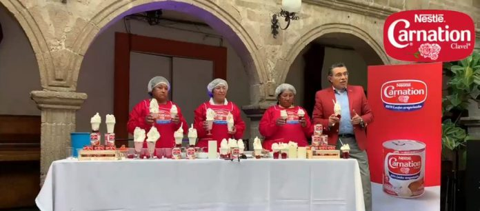 La tradicion de hacer una deliciosa crema chantilli ha pasado de generacion de generacion