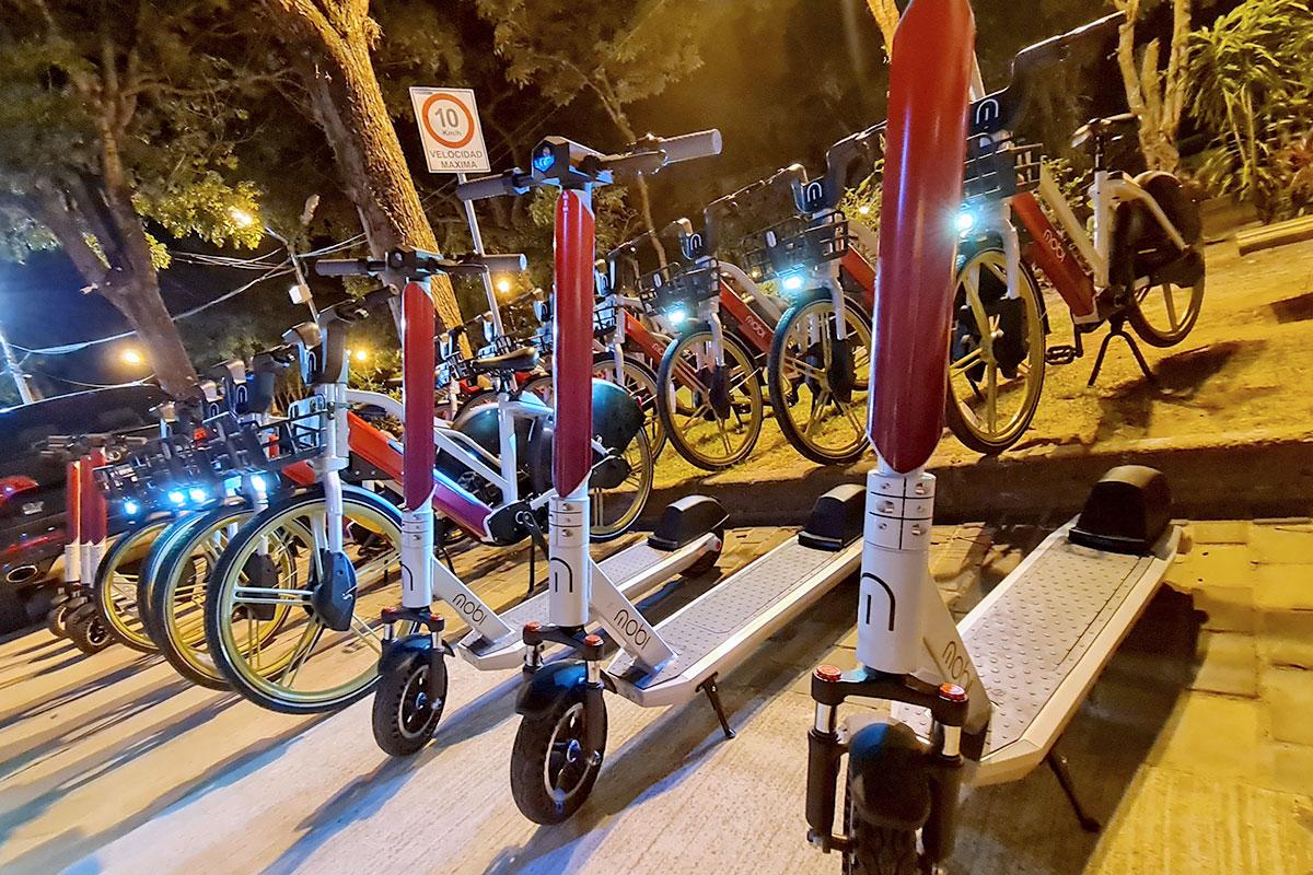 MOBI scooters y bicicletas eléctricas