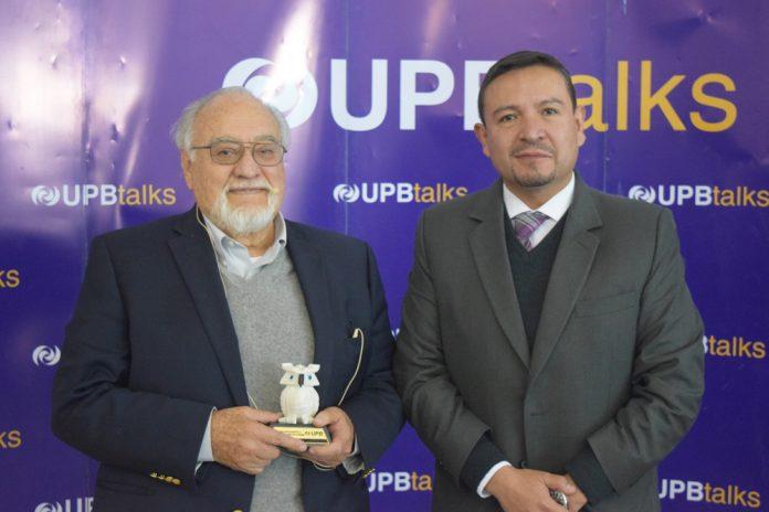 Oscar Molina junto a Fernando Illanes 2018