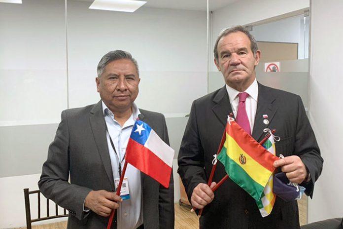 Rogelio Mayta y Andrés Allamand