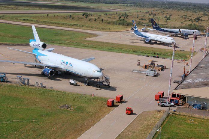aviones Aeropuerto Internacional de Viru Viru