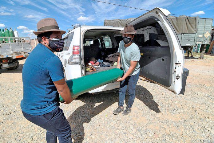 bombona de oxigeno vacía Cochabamba