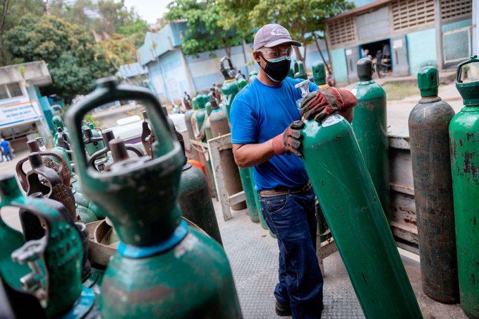 cilindros de oxígeno Venezuela