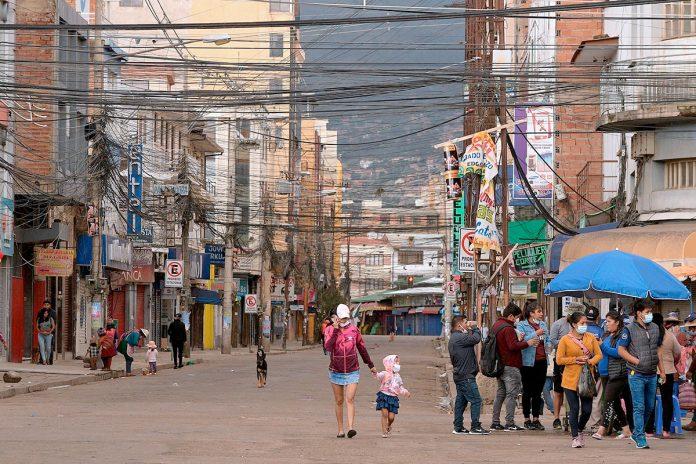confinamiento en Cochabamba