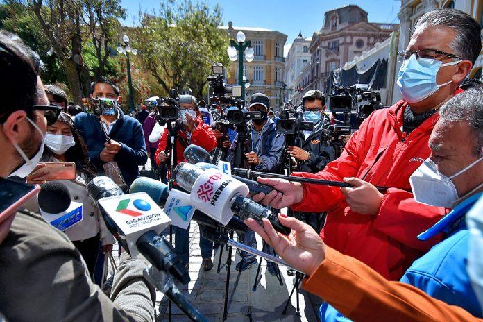 periodistas La Paz