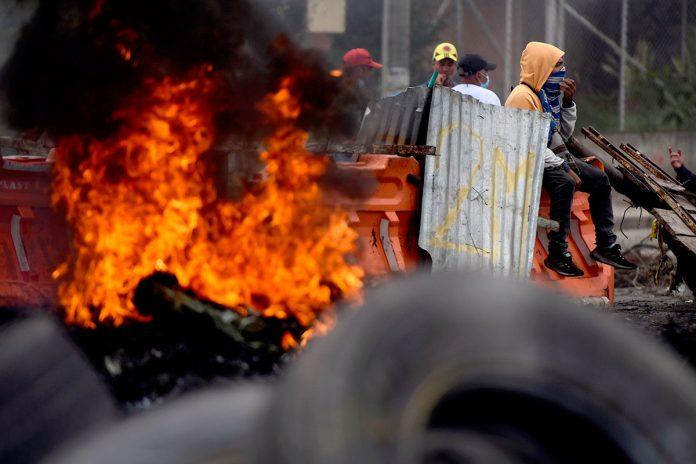 protestas populares Colombia