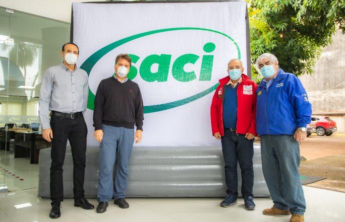 ADECRUZ presento a SACI como su nuevo patrocinador oficial para el automovilismo cruceno durante las gestiones 2021 2022