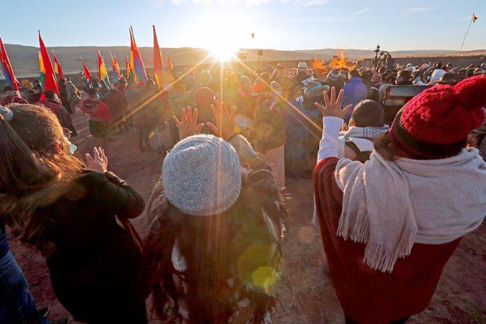 Año Nuevo Andino Tiahuanaco