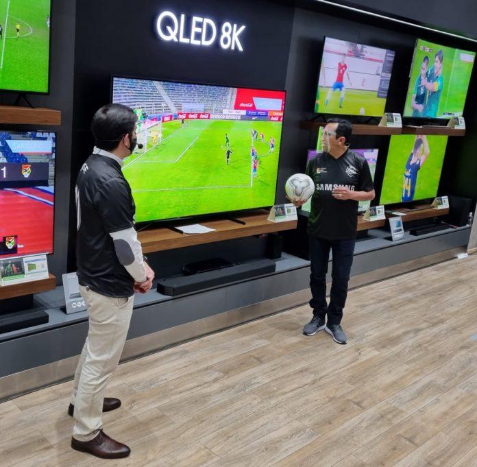 Celebra la pasion del futbol en tu TV Samsung 2