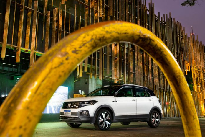 Con 5 estrellas de seguridad la nueva Volkswagen T Cross bate record de ventas