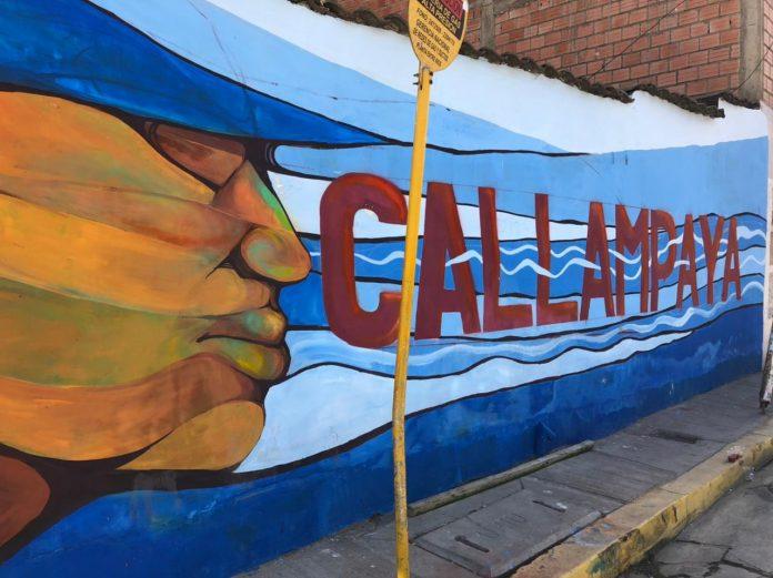 Con la entrega de dos murales en Callampaya se inicia proyecto de La ciudad de mil colores