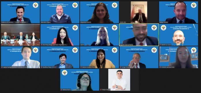 Conformacion de la Federacion de Negocios America Latina y el Caribe – China FENLACC