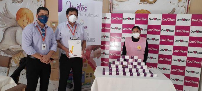 Corporacion COFAR dona mas de mil tratamientos de Ivermectina a DAVOSAN