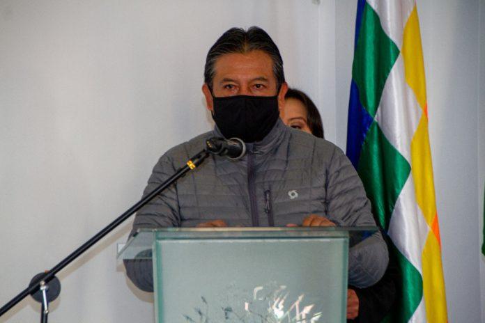 David Choquehuanca Vicepresidente el Estado Plurinacional