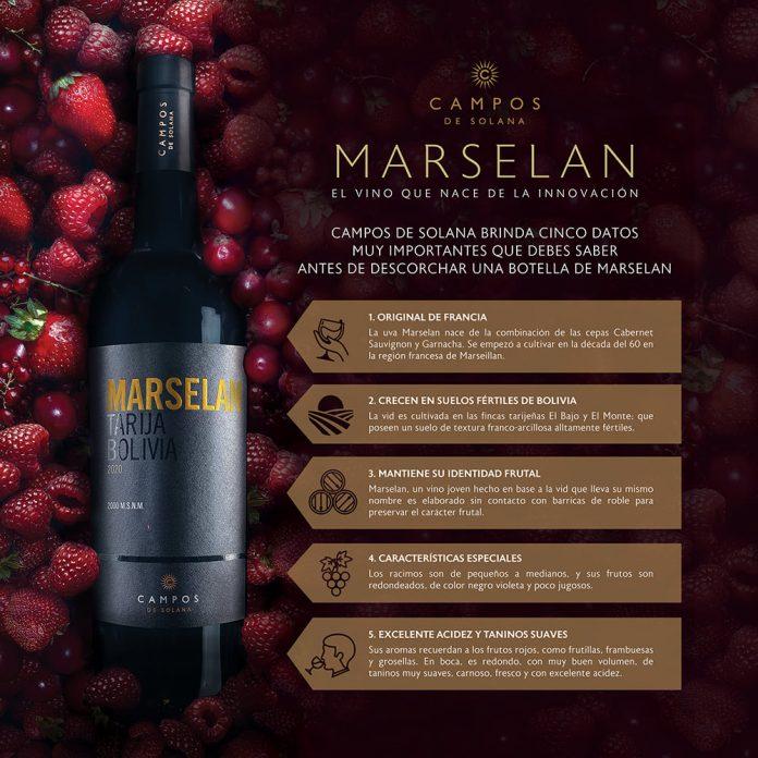 El secreto para maridar el vino Marselan