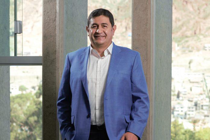 Gerente General de Ecofuturo Gustavo Garcia Ugarte