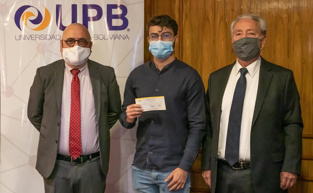 Hans Cristhian Muller Tofino de la carrera de Economia del campus de Cochabamba.