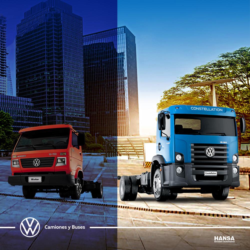 La nueva linea de camiones Constellation de Volkswagen