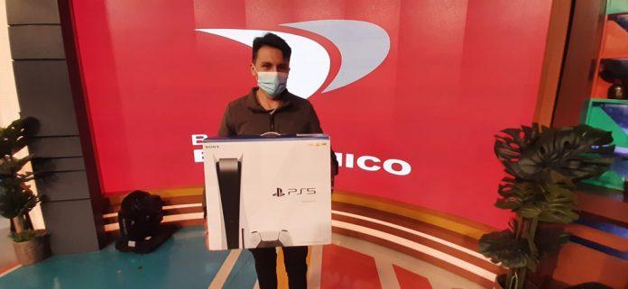 Marco Antonio Kama Aquise el segundo ganador del Play Station 5