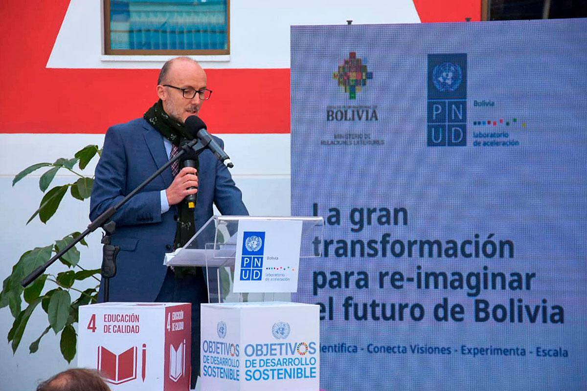 El PNUD suma a Bolivia en su red de laboratorios para desarrollo sostenible  - JORNADA