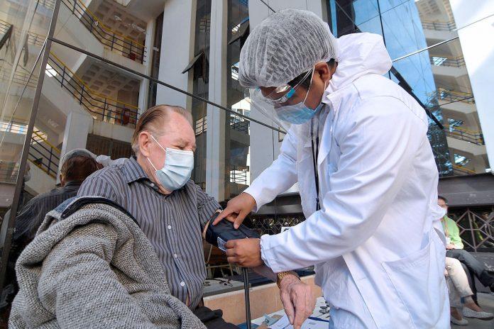 atención médica antes de vacunarse contra la covid-19