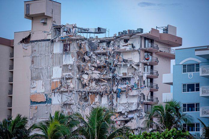 derrumbe edificio Miami