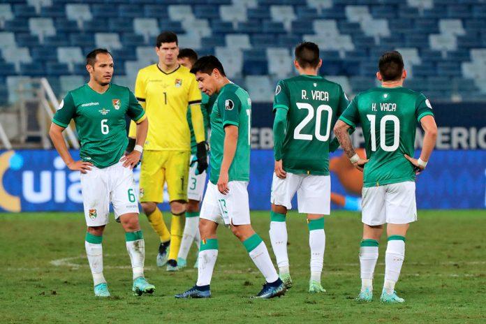 jugadores de Bolivia