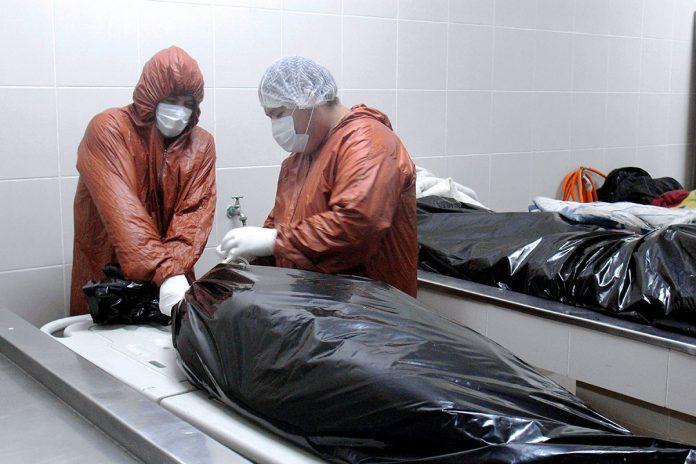 morgue del Hospital Pampa de la Isla
