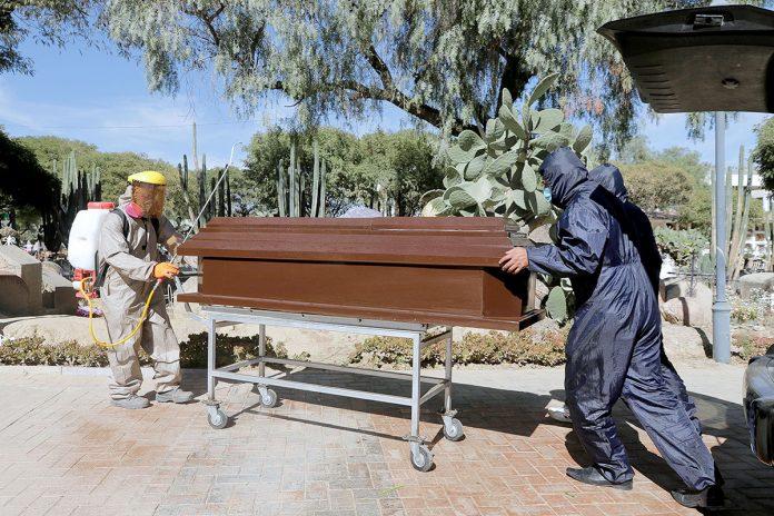muertos por covid-19 Cochabamba