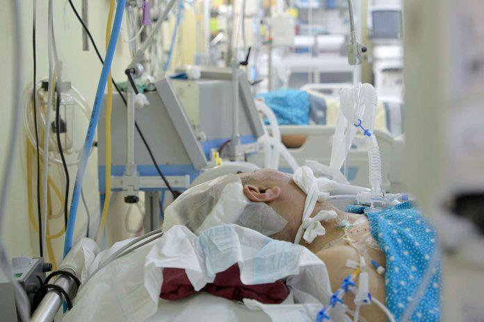 pacientes en unidades de terapia intensiva La Paz