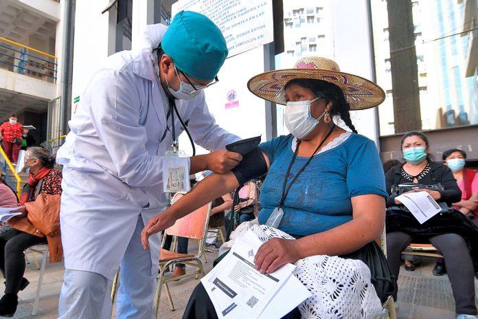 vacunación contra covid-19 en Cochabamba