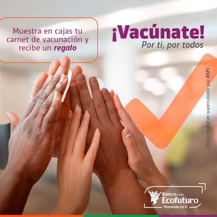 Ecofuturo apoya la responsabilidad de quienes se vacunen contra el Covid 19
