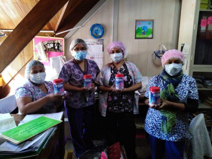 Hersil dona PVM a medicos y nutricionistas que atienden a personas con COVID