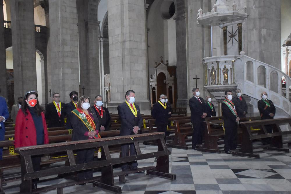 Iglesia Metropoltana de la ciudad de La Paz