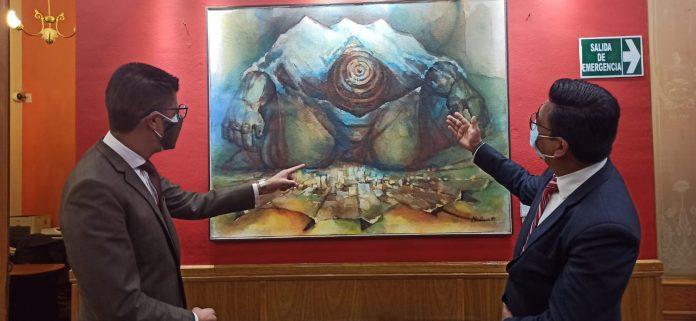 Inauguran exposicion cultural en el Concejo Municipal de La Paz