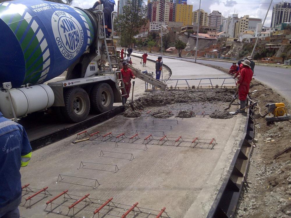 La Sociedad de Ingenieros de Bolivia SIB y el Instituto Boliviano del Cemento y el Hormingon IBCH