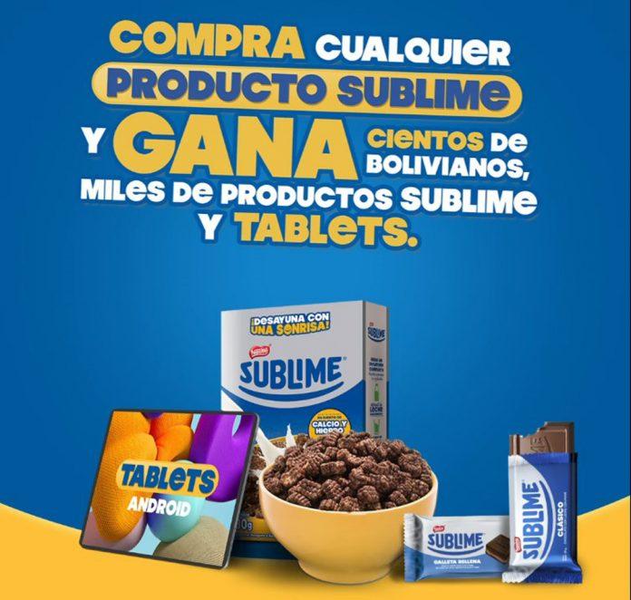 Sublime lanza su promocion Llenate de Sonrisas con miles de premios para sus consumidores