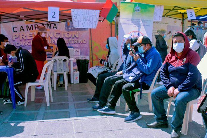 megavacunación La Paz