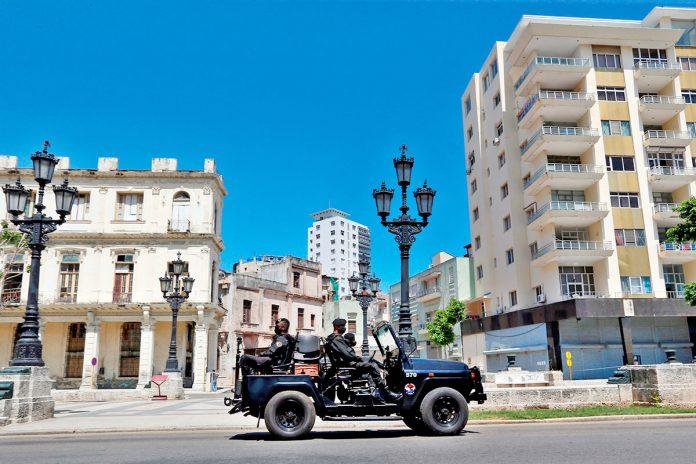 policías Cuba