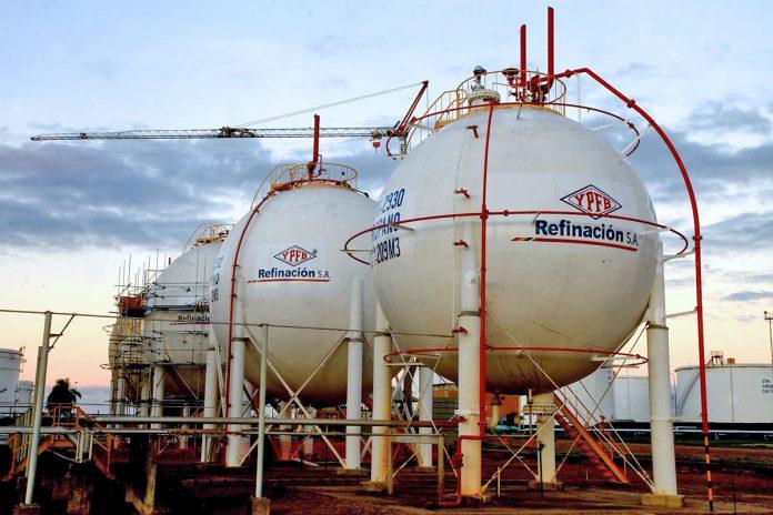 refinería YPFB