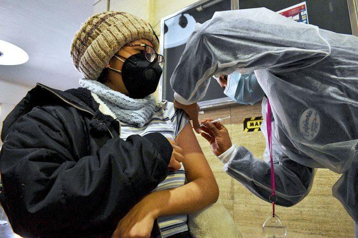 vacunación en La Paz