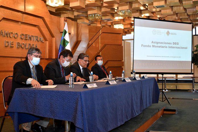 Banco Central de Bolivia asignación general FMI
