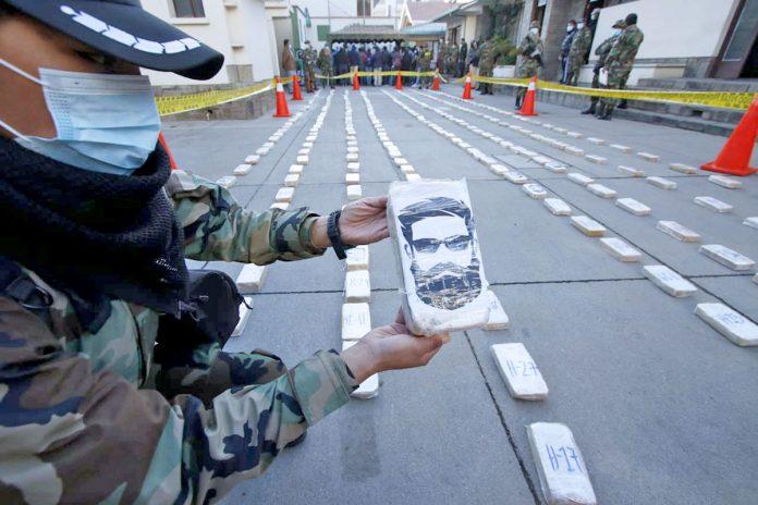 cocaína rostro Abimael Guzmán