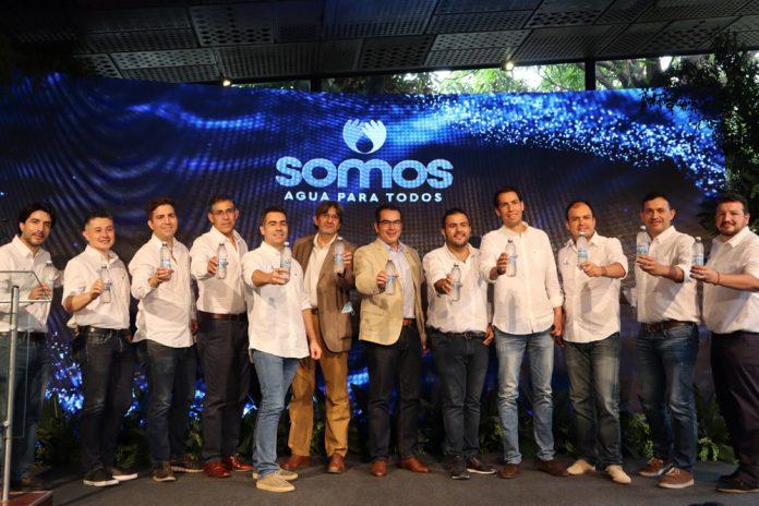 CBN presenta Agua SOMOS la primera marca concebida con un proposito social