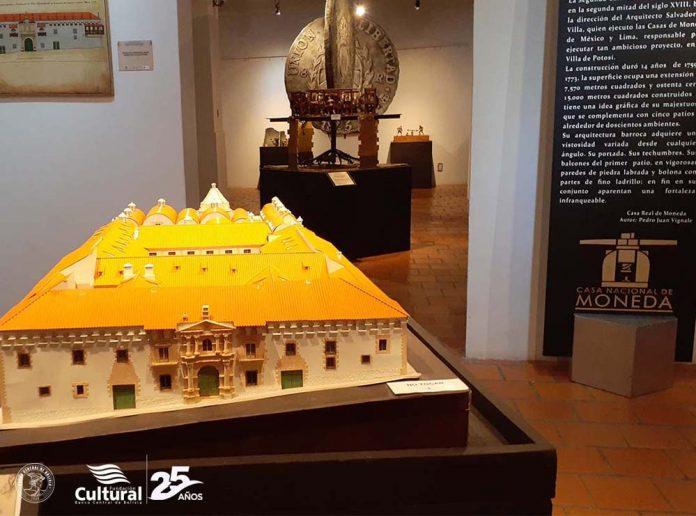 Inauguracion de la exposicion temporal La Ceca de la Villa Imperial de Potosi en la Casa Dorada de Tarija