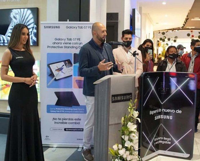 Jaime Alcazar Gerente de tiendas Samsung Bolivia