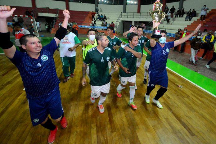 Santa Cruz campeón del nacional de futsal