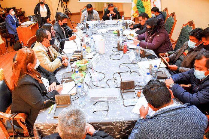 comisión mixta de Justicia Plural del Parlamento