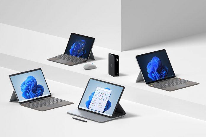 línea de hardware Surface