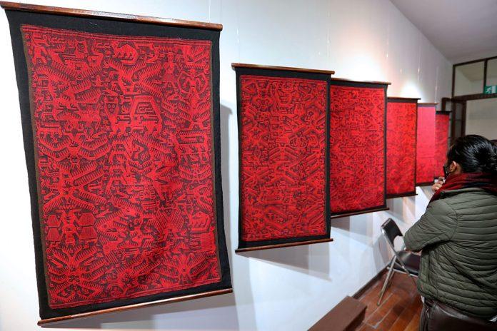 tejidos de la cultura jalq'a